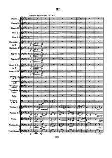 Sinfonie Nr.2 'Die vier Temperamente', FS 29 Op.16: Teil III by Carl Nielsen