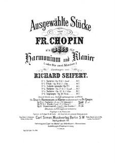Nr.2 in Es-Dur: Für Harmonium und Klavier by Frédéric Chopin