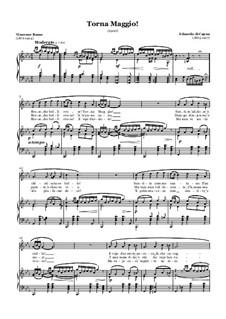 Torna Maggio!: Für Stimme und Klavier by Eduardo di Capua