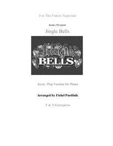 Jingle Bells, für Klavier: Jazzy/blues version by James Lord Pierpont