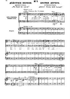Fragmente (Alternative Versionen): Akt I, für Solisten, Chor und Klavier by Michail Glinka
