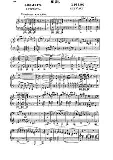 Fragmente (Alternative Versionen): Epilog, für Solisten, Chor und Klavier by Michail Glinka