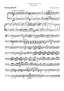 Ouvertüre: Cellosstimme by Michail Glinka