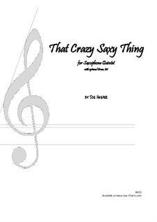 That Crazy Saxy Thing: That Crazy Saxy Thing by Joseph Hasper
