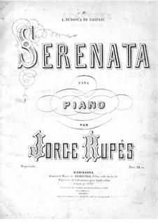 Serenade für Klavier: Serenade für Klavier by George Rupés
