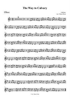 Der Weg nach Golgotha: For oboe by folklore