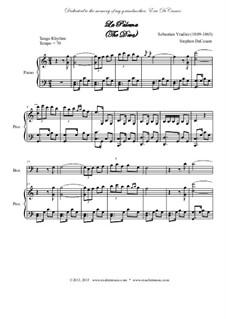 La Paloma (Die Taube): For woodwind quintet by Sebastián Yradier