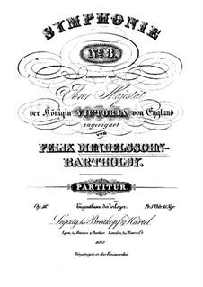 Sinfonie Nr.3 in a-Moll 'Schottische', Op.56: Teil I by Felix Mendelssohn-Bartholdy