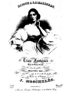 Bijoux a La Malibran, Op.72: Nr.3 by Ignaz Moscheles