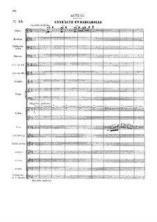 Vollständige Oper: Akt III by Jacques Offenbach