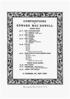 Zwei Fantasiestücke , Op.17: Vollsammlung by Edward MacDowell