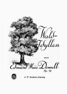 Wald-Idyllen, Op.19: Vollsammlung by Edward MacDowell