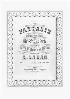 Fantasie in Form einer Sonate, Op.5: Für Klavier by August Saran