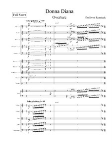 Donna Diana Overture: Donna Diana Overture by Emil von Reznicek