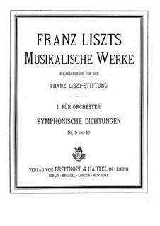 Symphonische Dichtung Nr.9 'Hungaria' für Orcherter, S.103: Vollpartitur by Franz Liszt