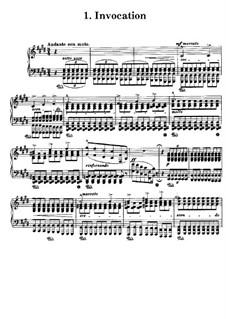 Poetische und religiöse Harmonies, S.173: No.1 Invocation by Franz Liszt