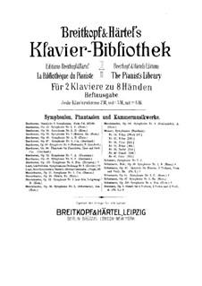 Symphonische Dichtung Nr.3 'Les préludes' für Orchester, S.97: Version für zwei Klaviere, achthändig – Klavierstimme II by Franz Liszt