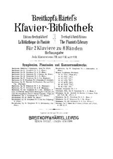 Symphonische Dichtung Nr.3 'Les préludes' für Orchester, S.97: Version für zwei Klaviere, achthändig – Klavierstimme  I by Franz Liszt