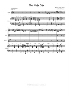 The Holy City: For strings and woodwinds by Stephen Adams