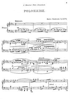 Zwei Stücke für Klavier, Op.45: Vollsammlung by Moritz Moszkowski
