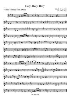 Heilig: Für Violine by John Bacchus Dykes