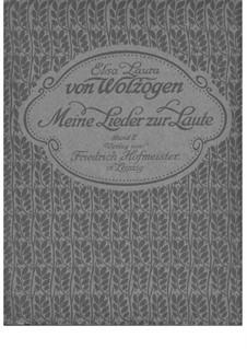 Meine Lieder zur Laute - Band 2: Meine Lieder zur Laute - Band 2 by folklore, Unknown (works before 1850)