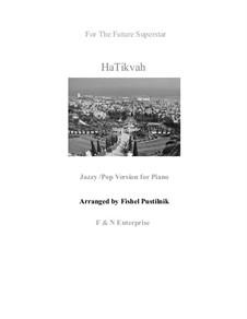 HaTikwa: Für Klavier by folklore