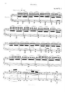 Studien in kanonischer Form, Op.56: Nr.4, für Klavier, vierhändig by Robert Schumann