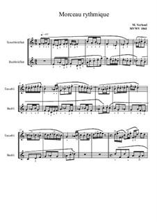 Morceau rythmique, MVWV 1041: Morceau rythmique by Maurice Verheul