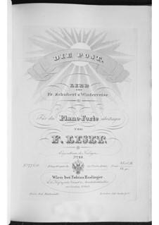 Nr.13 Die Post: Für Klavier, S.561 No.4 by Franz Schubert
