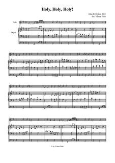 Heilig: Für Trompete in C und Orgel by John Bacchus Dykes