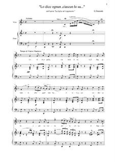 Die Regimentstochter: Lo dice ognun, ciascun lo sa... by Gaetano Donizetti