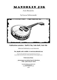 Mandolin Jig: Mandolin Jig by Lucas Sobieranski
