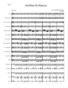 Tortillitas De Manteca for Elementary Mariachi Orff Ensemble: Tortillitas De Manteca for Elementary Mariachi Orff Ensemble by folklore