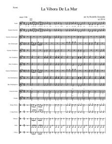 La vibora de la mar: For elementary mariachi orff ensemble by folklore