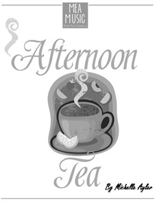 Afternoon Tea (Intermediate Piano Duet): Afternoon Tea (Intermediate Piano Duet) by MEA Music