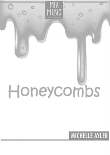 Honeycombs (Beginner Piano Solo): Honeycombs (Beginner Piano Solo) by MEA Music