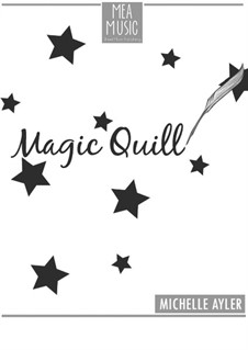 Magic Quill (Beginner Piano Solo): Magic Quill (Beginner Piano Solo) by MEA Music