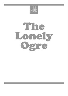 Lonely Ogre (Beginner Piano Solo): Lonely Ogre (Beginner Piano Solo) by MEA Music