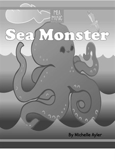 Sea Monster (Easy Piano Solo): Sea Monster (Easy Piano Solo) by MEA Music