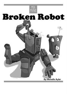 Broken Robot (Easy Piano Solo): Broken Robot (Easy Piano Solo) by MEA Music