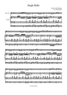 Jingle Bells: Für Blockflöte und Orgel by James Lord Pierpont