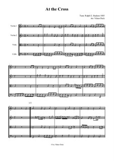 At the Cross: Für Streichquartett by Ralph E. Hudson