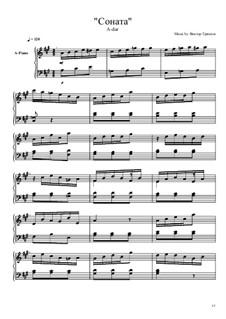 Соната A-Dur: Соната A-Dur by Viktor Gryaznov