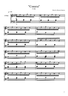 Соната C-dur: Соната C-dur by Viktor Gryaznov