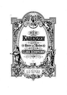 Kadenzen zum Klavierkonzert Nr.20 von Mozart: Kadenzen zum Klavierkonzert Nr.20 von Mozart by Clara Schumann
