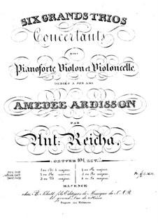 Sechs Klaviertrios, Op.101: Trio Nr.2 in d-Moll by Anton Reicha