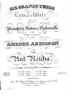 Sechs Klaviertrios, Op.101: Trio Nr.3 in C-Dur by Anton Reicha