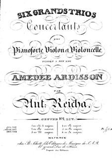 Sechs Klaviertrios, Op.101: Trio Nr.4 in F-Dur by Anton Reicha