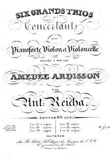 Sechs Klaviertrios, Op.101: Trio Nr.5 in D-Dur by Anton Reicha